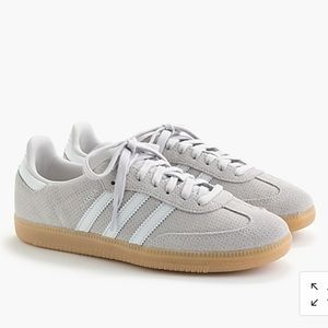 J Crew Suede Adidas Sambas